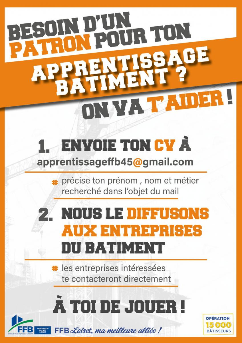 Apprentissage BTP 2020